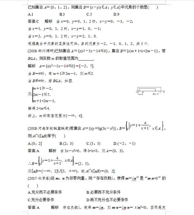 2021高考数学必考重难点题型归纳(详细试题解析)转给孩子